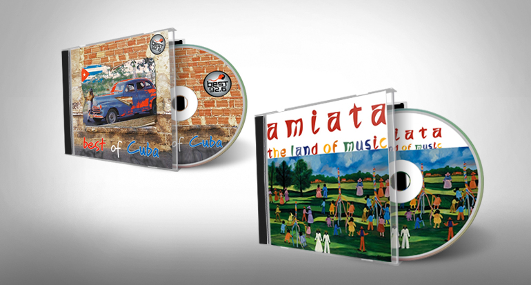 CD cover, booklet